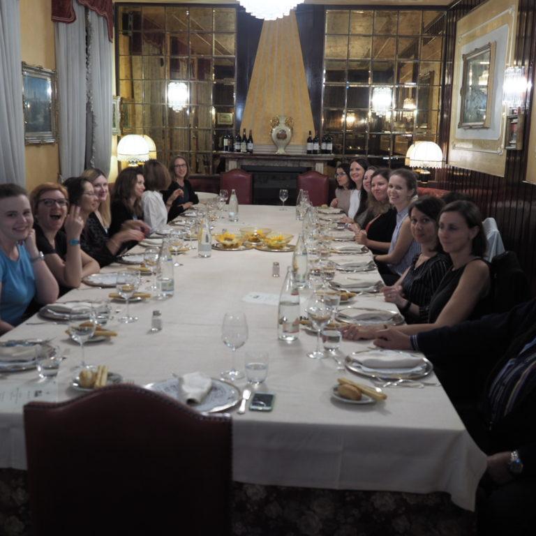 cena con delegazione russa