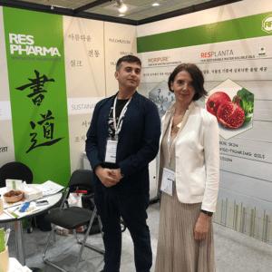 Paolo and Beata winners @In-cosmetics Korea 2019